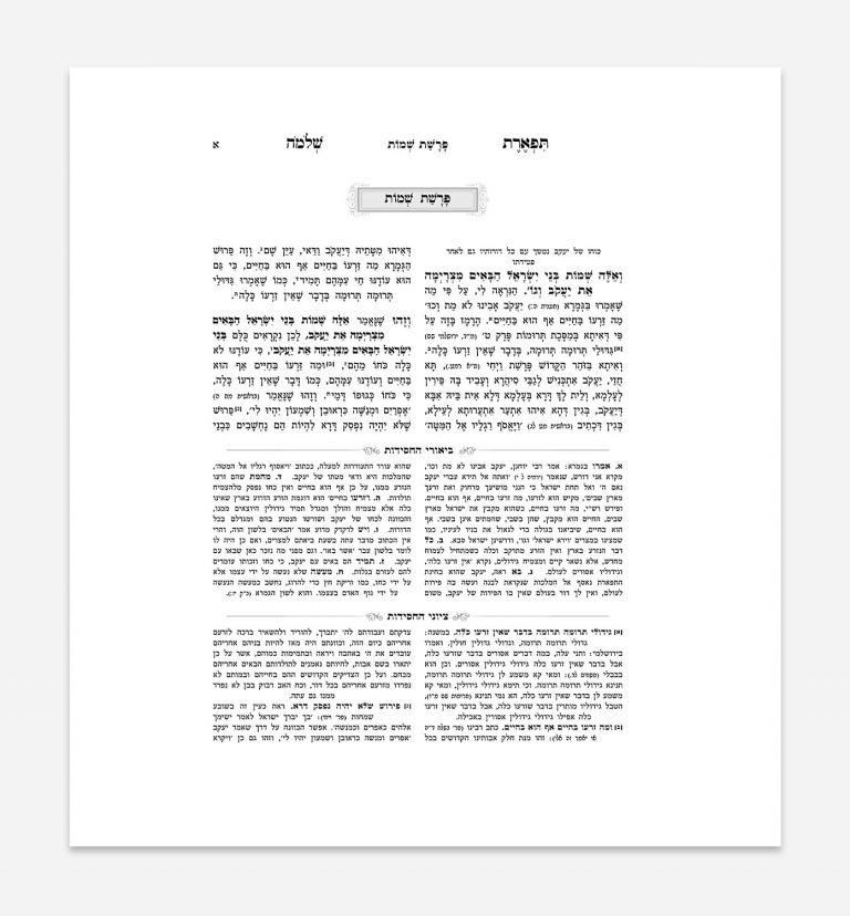 ניקוד ספרי קודש - תפארת שלמה